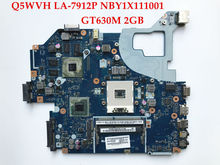 High quality Q5WVH LA-7912P for ACER Aspire V3-571G E1-571G motherboard NBY1X11001 PGA989 DDR3 GT630M 2GB 100% Fully tested(China)