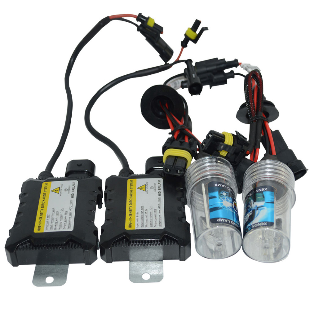 35W Car Headlight HID Conversion Kit Xenon Light Head Lamp Silm Ballast H1 H4-3 H7 H11 D1S D2S D2R High Low Beam Light Source<br><br>Aliexpress