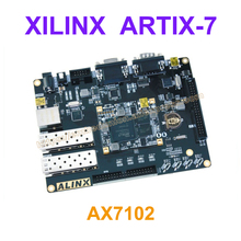RQ-AX7102 A7 FPGA Development Board Artix-7 XC7A100T-2FGG484I with 8Gb DDR3,128M FLASH,JTAG&Serial Port,Optical Fiber interface