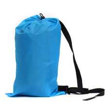 Fast Inflatable Lazy Bag Lay Bag Sleeping Bag Camping Air Sofa Sleeping Beach Bed Banana Lounge Bag Laybag Air Hammock(China)