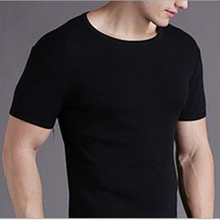 Men's Cotton T-shirt Collar Korean Casual Menswear Heart-shaped Half Sleeve Summer Tide Movement MZ0009(China)