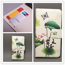 New Ultra thin Flower Flag vintage Flip cover For HTC G13 Wildfire S A510E Cellphone Case Freeshipping