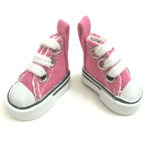 Assorted Colors Canvas Shoes For 1/6 BJD Doll,3.5 CM Mini Toy Shoes 1/6 Bjd Shoes for Doll Accessories 12 Pair/Lot(China)
