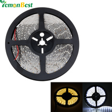 5M/roll 300 LED SMD 3528 Waterproof  Flexible LED Strip Light Warm White Cool White Home Automobile Decoration