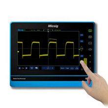 Micsig Digital Tablet Oscilloscope 100MHZ 2 channel portable touchscreen oscilloscope automotive kit TO102A with battery