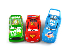 3Pcs/ Set cars pixar 2 diecast models Vehicles kids toys car toys for children 43 the king DINOCO 86 HTB 95