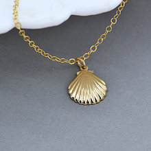 10PCS- Marine Shell Conch Necklace Mermaid Ocean Seashell Necklace Nautical Sea Shell Necklace for Beach Party(China)