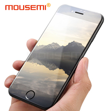 Buy MOUSEMI iPhone 7 8 6 Plus Glass Protection Screen Protector Slim Film Protective Glass iPhone 7 8 6 6s X Tempered Glass for $1.39 in AliExpress store