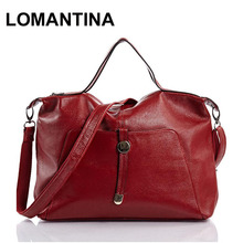 New Designer Genuine Leather Bag Fashion Women Leather Handbag Brand Bolsas Femininas Women Messenger Bag Red Tote With Pocket