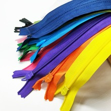 HL 11PCS 28CM Length Colorful Invisible Close-End Nylon Zipper Garment Bags Accessories Sewing Notions A159(China)