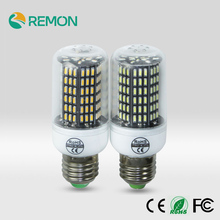 E27/ E14 4014 SMD LED Corn Bulb Lamp No Flicker LED Light Bulb 220V 38 55 78 88 140leds Smart IC Chandelier Lantern Spotlight
