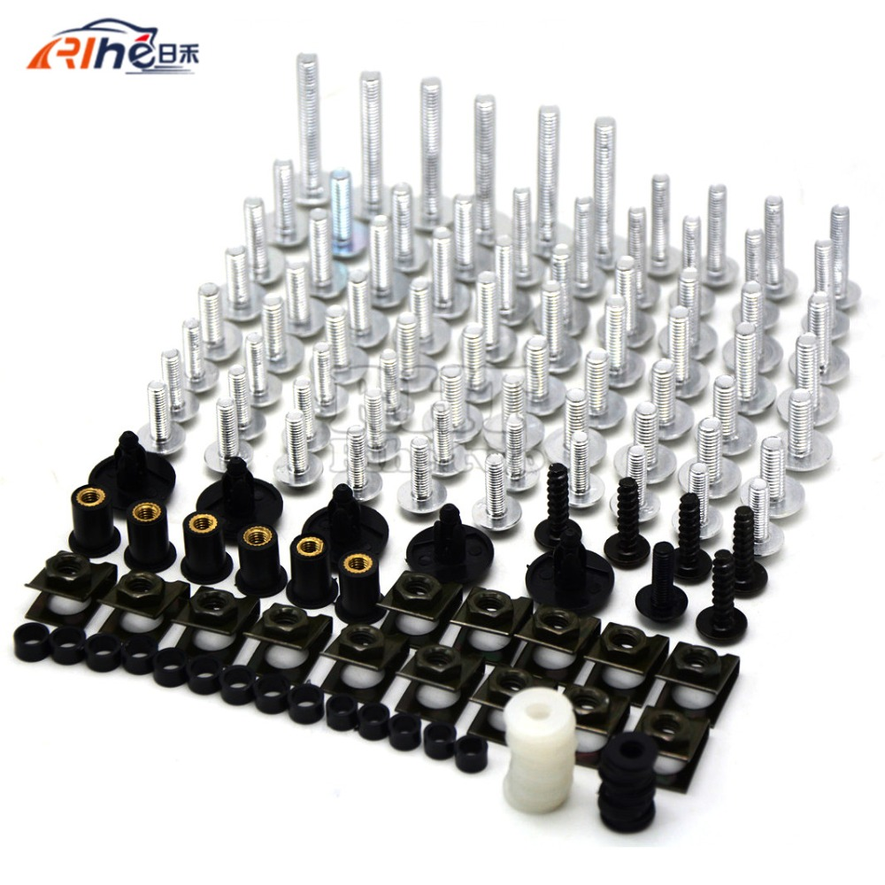 New Universal Brand  Motorcycle Accessories Fairing body work Bolts Screws for Suzuki M109R boulevard Ducati Diavel the devil<br>
