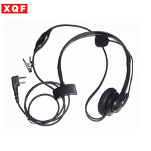 XQF Maximal Power 2 Way Radio Surveillance Earpieces for ICOM 2 Pins Plug, Compatible For ICOM F3G, F4G, F11, F11S, F14, F14S(China)