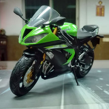 6pcs/lot Brand New JOCITY 1/12 Scale Motorbike Model Toy KAWASAKI NINJA ZX-6R Diecast Metal Motorcycle Toy No With Original Box(China)
