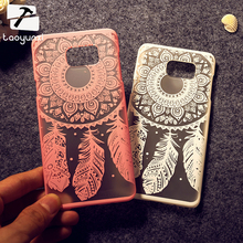 Painted Phone Cases For Samsung Galaxy NoteV N9200 Note5 5.7'' Note V Covers Bird Plumage Anti- Scratch Hard Plastic Shell Bags