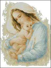 Высочайшее Качество Красивые Прекрасный Счетный Крест Комплект Мать и Дети Ребенок Детские Младенческой Малыш лука лука-s(China)
