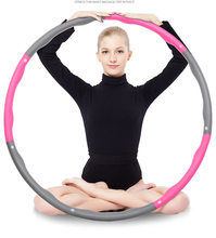 New Sports Hoop Hula Hoop Health Care Spring Hoola Hoop Waist Support Exercise Best Weighted Exercise Diet SL3012(China)