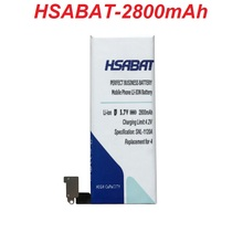 HSABAT 2800mAh Battery for iPhone 4 Battery Use for iPhone4 Battery for iPhone 4g Battery