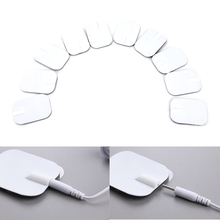 New 10Pcs Replacement for Massager Tens Units Electrode Pads Therapy Machine 6*4CM