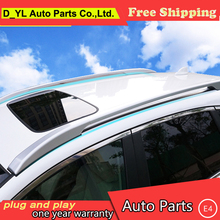 D_YL car styling For Honda CRV luggage rack 2015 2016 For CRV not require holes Free Punch community 4S Roof Racks