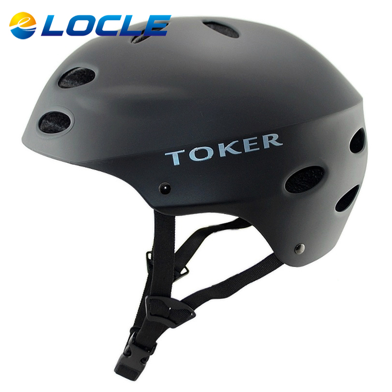 LOCLE Cycling Helmet Road And Mountain Bicycle Helme Extreme Sport MTB BMX Skateboarding Skate Bike Helmet 5 Color Size 52-63CM<br><br>Aliexpress