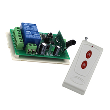 DC24V 2CH RF Wireless Remote Control Switch System 1 Receiver & 1 Transmitter Home Appliances/Lamp 315/433mhz