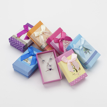 Multi Colors Jewelry Gift Box 5*8 cm Jewelry Sets Display 6pcs Jewellery Organizer For Necklace Packaging/Ring Box/Earring Box(China)