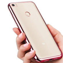 For Xiaomi Redmi 4X 32G Case 5.0 inch Thin Plating Crystal Soft TPU Clear Silicon Back Cover for Xiaomi Redmi 4X 4 X Pro Prime