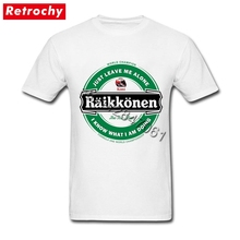 Buy 2017 Hot Casual T Shirt Kimi Raikkonen Brand Tee Men Fashion Male Custom Printing Tee Short Sleeves Cotton Crew Neck T-Shirt for $12.54 in AliExpress store