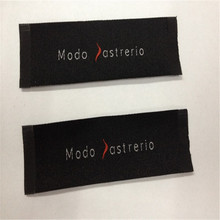 Customized 2.5*8.4cm Garment Woven Label ART DESIGN(China)