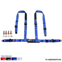 "1 Set 2"" 4 POINTS Universal JDM Racing Sport Seat Belt Safety Harness Strap For Honda Civic EK EM JDM 99-00 AF-AQD066SP2I"