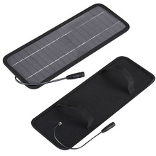 Hot! 18V 4.5W Solar charger Panel /battery car/mobile phone/other 12V rechargeable battery - Cooleleparts Center store