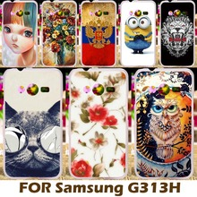 Phone Case For Samsung Galaxy ACE 4 NXT G313 G318H 4.0 inch Trend 2 Lite G313H Ace 4 Lite SM-G313H Neo Covers Cases Housing