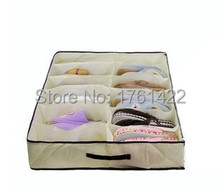 Classic 12 large format transparent waterproof storage shoe storage shoe box wholesale odor proof(China)