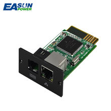 EASUN POWER SNMP Card For Hybrid Solar Inverter IGrid SS/TT 2-10kw Remote Monitoring Solution Remote Control Monitoring System