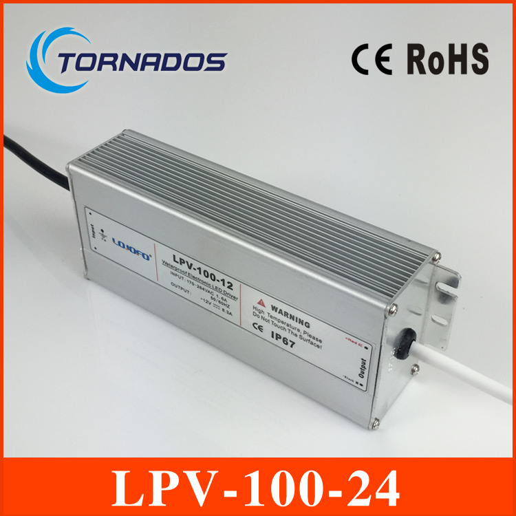 (LPV-100-24) IP67 Constant voltage AC to DC 100w waterproof driver 24V constant voltage led power supply 24v 100w<br><br>Aliexpress