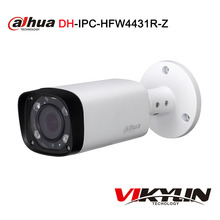 Dahua IPC-HFW4431R-Z motorized VF lens network POE IP H.265 bullet camera 4MP replace IPC-HFW4300R-Z(China)