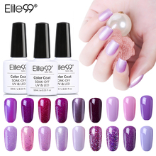 Elite99 10ML All 48 Solid Colors Fashion UV Gel Nail Polish Soak Off Vernish Semi Permanent LED Nail Polish Lacquer Gelpolish