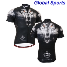 2017 Brand Team Man Cycling Jersey tiger head short Sleeve Jersey Bike Bicycle Clothing For Spring Summer Autumn
