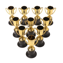 Trophy Sports-Winner Reward Prizes-Toys Educational-Props Kids Game Safe ABS for 10pcs