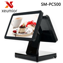 "Free software 12"" / 15"" all in one touch screen android desktop pos terminal restaurant pos machine cheap pos sytem(China)"