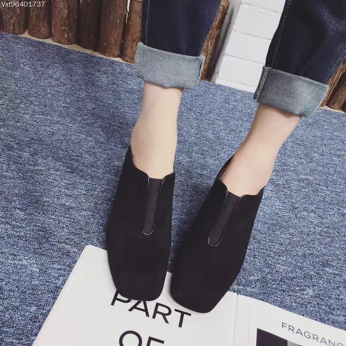 Black Khaki Women Shoes Winter High Heel Ankle Boots 7.5cm Suede Low Top Pumps<br><br>Aliexpress