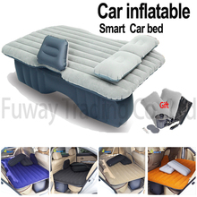 DHL Free Shipping!! Car Back Seat Cover Car Air Mattress Outdoor Travel Bed Inflatable Mattress Air Bed Inflatable Car Sleep Bed