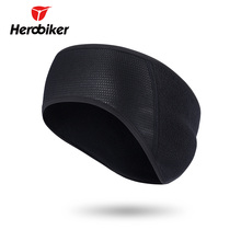 HEROBIKER Motorcycle Face Mask Moto Cold-proof Autumn Winter Thermal Fleece Earmuffs Muffler Headband Cycling Ear Protection(China)