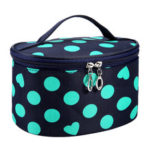 Xiniu Zipper Pouch Travel Toiletry Bag Dot Series Portable Cosmetic Bag Travel Make-Up Tassen Purse Organizer #5100(China)