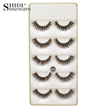 Eyelash Extension Make up Eyelashes Long Thick faux cils natural Handmade Beauty False Eyelashes cilios posticos Lashes 5 pairs