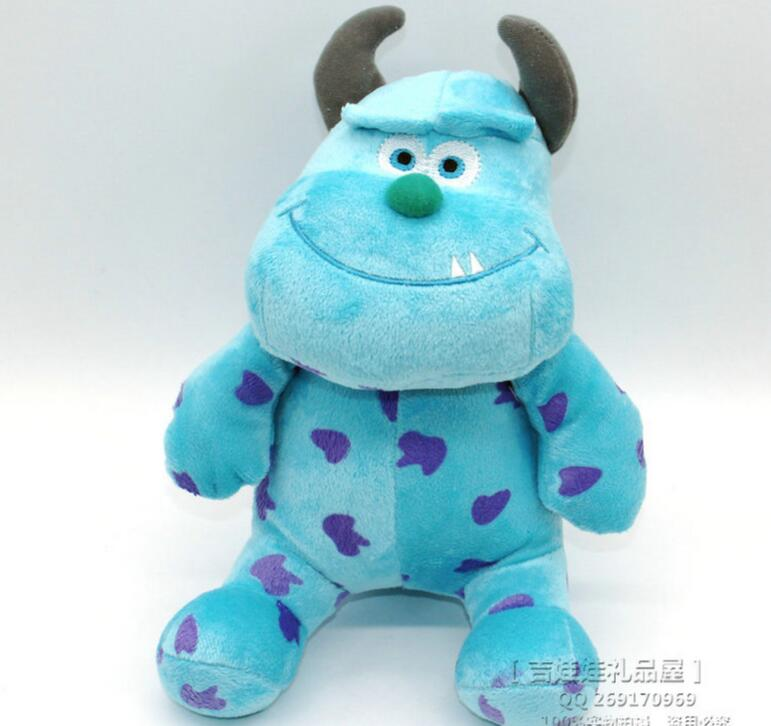 1pc 7.8 Monsters Inc Monsters University Monster Mike Wazowski And James P. Sullivan plush toy for kids gift<br><br>Aliexpress