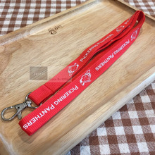 250pcs/lot custom lanyards,Red color Neck strap lanyard,heat transfer logo printing lanyard,OEM brand lanyards