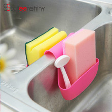Kitchen Portable Hanging Drain Bag Basket Bath Storage Gadget Tools Sink Holder Dish Brush Organizer Creative Home Furnishing