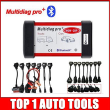 New Multidiag Pro+8 car cables+8 truck cables 2015R3keygen VD TCS CDP With Bluetooth OBD2 OBDII Diagnostic Tool for Cars Trucks